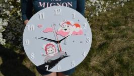 Настенные часы Медвежата