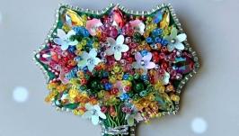 Брошь ′Букет Цветов′