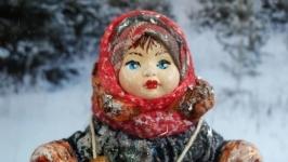 Іграшка новорічна ′12 місяців. Марушка′