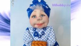 Баба на чайник кукла грелка