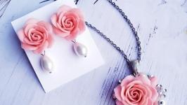 Комплект  Нежная роза