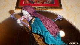 Кукла оберег, мотанка Берегиня ′Маргарита′ кукла в чулках, ведьмочка, магия
