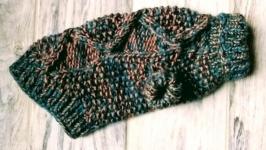 Вязаный свитер для собачки