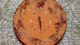 Великий круглий годинник ′Метелики′