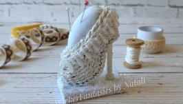 Игольница туфелька
