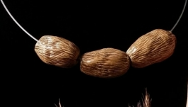 Бусы Коричневый кардамон