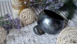 Браслет Чарівний сірий (діаметр - 6,9 см.)