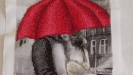 Картина′Двое под зонтом′