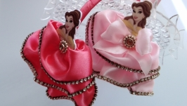 Ободок для волос принцесса Диснэя Корона золото серебро