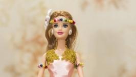 Кукла шкатулка Радуга цвета