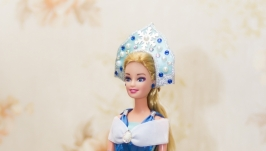 Кукла шкатулка Снегурочка