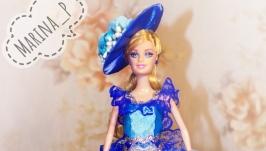Кукла шкатулка Леди в кружевах