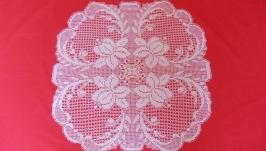 Crochet doily ′Fuchsia′