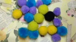 Textile Beads Mix 20 pcs.
