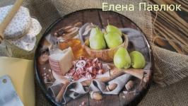 Сырная разделочная ′Грушевая феерия′
