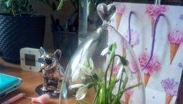 Подснежники в стеклянном колпаке