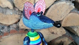 Мышка ′Полосатый Сарафанчик′