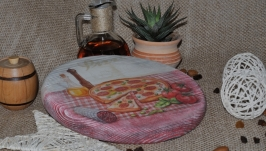 Сирна дощечка ′Кому піца...′
