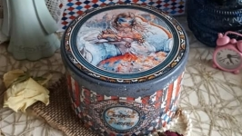 Кругла скринька ′Венеція′