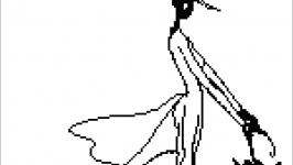 Схема-монохром ′Силуэт′