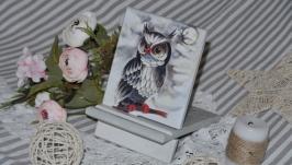 Підставка під телефон  ′Мудра сова′