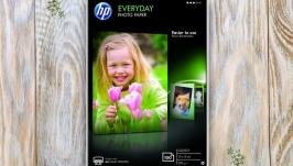 Фотобумага hp everyday - А4 и 10х15см