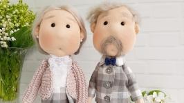 Пара кукол ′Бабушка и дедушка′