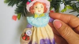 Серия Маленькая леди 4. Cotton toy Series Little Lady 4