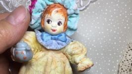 Ватная игрушка Серия Маленькие леди 3, Cotton toy Series Little Lady3