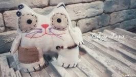 Тактильный кот для маленьких и взрослых!