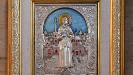 Икона ′Святая блаженная Ксения Петербугская′