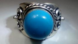 Перстень 18 Бирюза натуральная