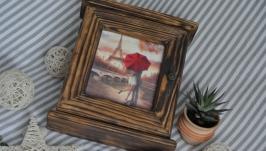 Дерев′яна ключниця ′Париж для закоханих′