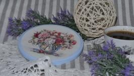 Підставка під горнятко ′Квіткова′