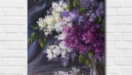 Картина маслом ′Бархат ночи′ 45х35 см, холст на подрамнике, масло
