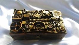 Купюрницы в стиле стимпанк (Steampunk), подарок мужу. парню