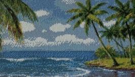 Картина Пляж (алмазная мозаика)