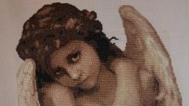 Картина ′Купидон′ (Вышивка крестиком)