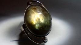 Кольцо 18 Лабрадор натуральный