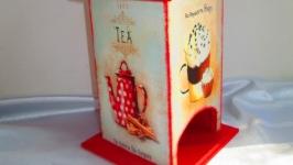 Чайный домик ′Приятное чаепитие′, подарок маме, бабушке, учителю
