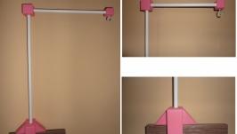 Кронштейн крепеж держатель для детского мобиля Фламинго