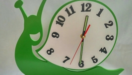 Часы ′Весёлая улитка′