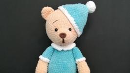 Мягкая игрушка Мишка в пижаме