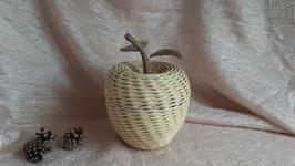 Яблоко - шкатулка ( конфетница )