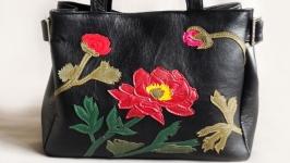 Женская сумка ′Розы′