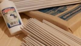 Бумажная лоза для плетения