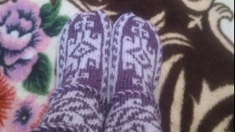 Вязаные носки. Джурабы