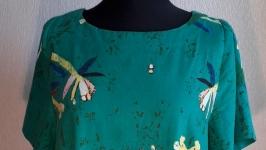 Платье летнее в стиле бохо