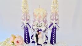 Весільний набір свічок