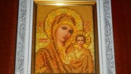 Икона Божья Матерь Казанская.